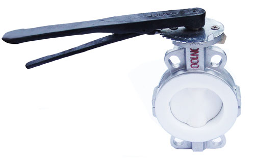 PTFE Lined Butterfly Valve - copy