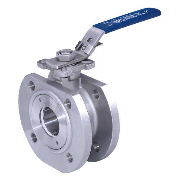Wafer Thin Type Flanged Ball Valve