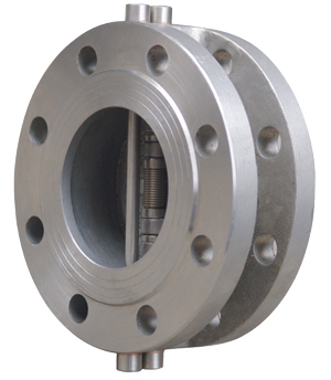 Flange Type Double Disc Check Valve