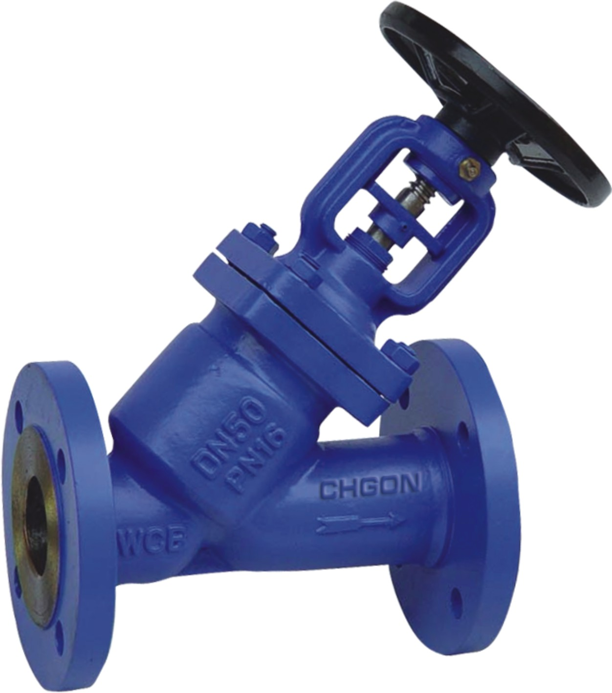 DIN Y Type Bellows Seal Globe Valve